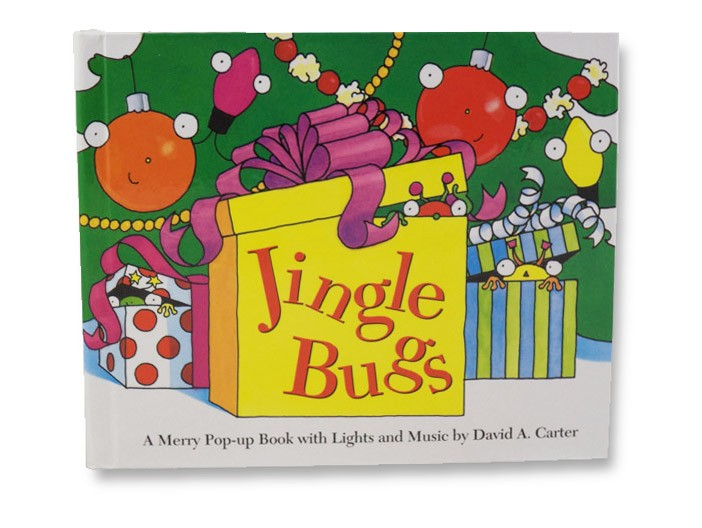 Jingle Bugs: A Merry Pop-up Book with Lights and Music (Mini Edition), Carter, David A.