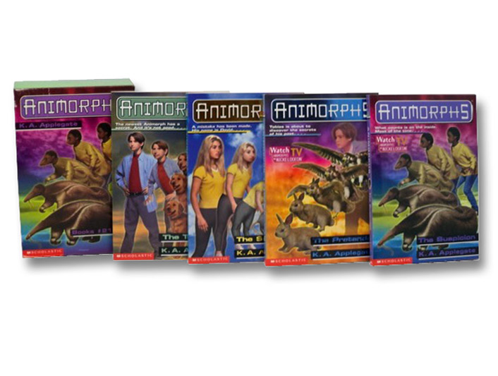 Animorphs Boxed Set: The Threat; The Solution; The Pretender; The Suspicion (Books 21-24), Applegate, K.A.