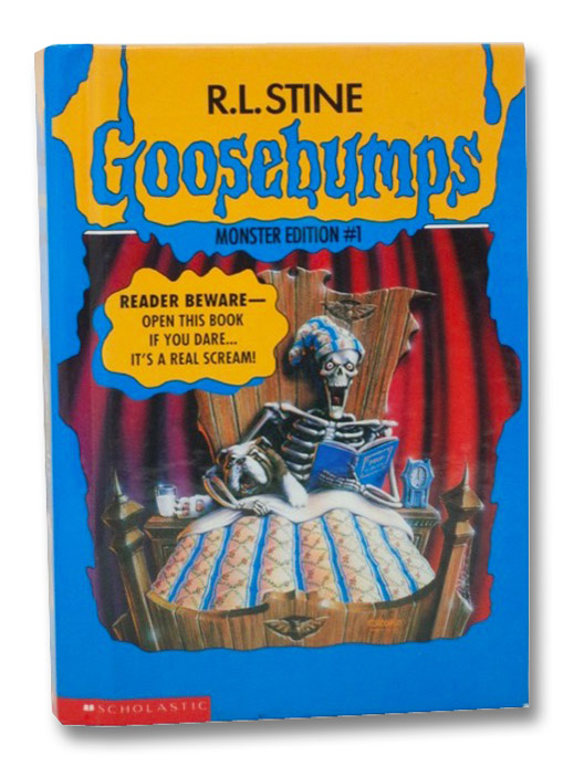 Goosebumps Monster Edition 1: Welcome to Dead House, Stay Out of the Basement, and Say Cheese and Die!, Stine, R.L.