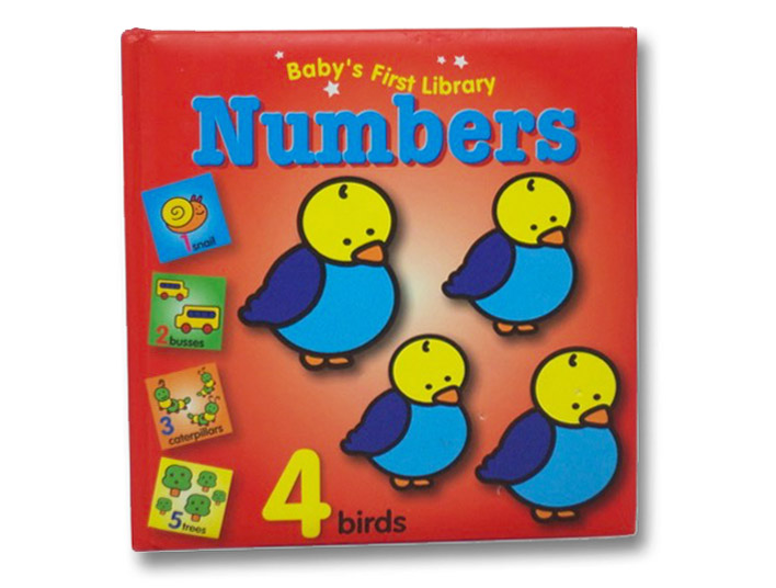Numbers (Baby's First Library), YoYo Books