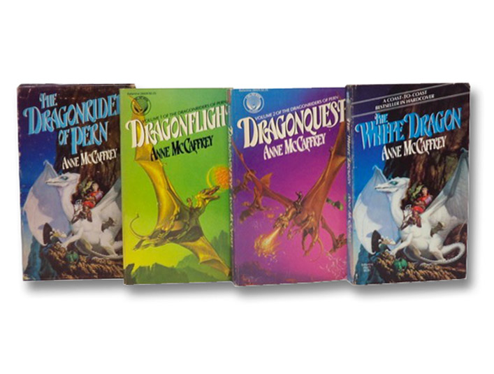 The Dragonriders of Pern: Dragonflight; Dragonquest; The White Dragon, McCaffrey, Anne